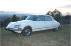 Citroen DS 21 IE 1972 Pallas Velours Bleu
